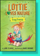 Lottie decides to make a pond in her back garden to encourage local wildlife, but Noah's dad is determined to rid his garden of all forms of wildlife, even ants. Can Lottie save the ants and the multitude of frogs who suddenly appear in Mr. Parfitt's yard