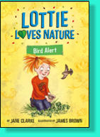 Some sparrows make a nest in Lottie's garden.  She's determined to look out for the chicks and provide them with a bird bath, and prepare food for the winter. But can Mr Parfitt be persuaded that birds aren't just a nuisance?