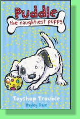 Toyshop Trouble is the first of five books I've written for this series.