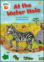 Zebra is thirsty, but at the water hole something's waiting to pounce!
